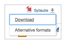 Scarica il file nel formato alternativo