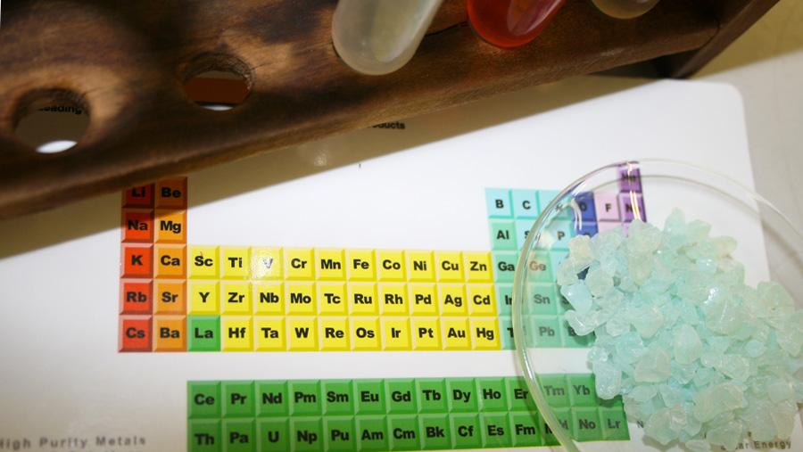 I saperi minimi della Chimica per l'Ingegneria